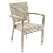 Zahradní židle - křeslo Sarah F Silk grey