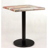 Kavárenské stoly - stůl Basic 025QSM