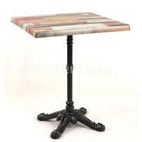 Kavárenské stoly - stůl Bistro 4QSM Kbana Rouge
