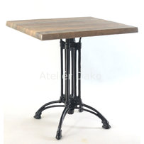 Kavárenské stoly - stůl Dominique 4QSM s deskou 70x70cm