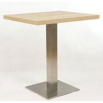 Kavárenské stoly - stůl INOX 06 QLTD