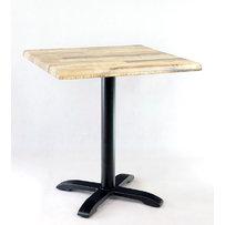 Kavárenské a restaurační stoly - stůl Pise 08 QSM s deskou 70x70cm Kansas