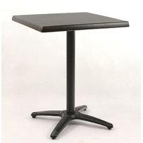 Kavárenské stoly - stůl Roma 4 Black QT Classicline