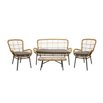 Zahradní lounge sedačky - zahradní lounge set RHEA