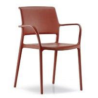 Plastové židle - židle ARA s područkami