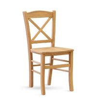 Dřevěné židle - židle CLAYTON DUB masiv