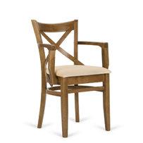 Dřevěné židle - židle Locarno s područkami
