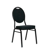 Kovové židle - židle Selectstack deluxe round Black