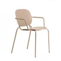 Kovové židle - židle Si-Si přírodní bílá