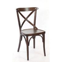 Dřevěné židle - židle Sofia tmavě hnědá
