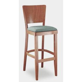 Dřevěné barové židle - barová židle Josefína 262 čalouněná