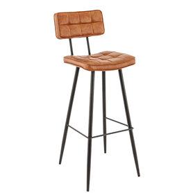 Barové židle - barová židle Maurice BST Cognac