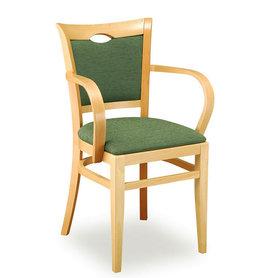 Dřevěné židle - dřevěná židle Sara 813 s područkami
