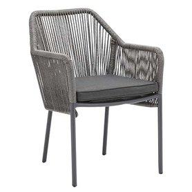 Zahradní židle - křeslo Baleric grey