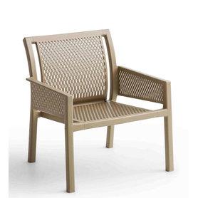 Plastové židle - lounge křeslo Grand Minush