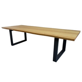 Jídelní stoly - Masivní dřevěný stůl COLLAB