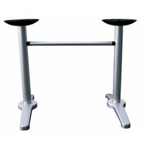 Stolové podnože - stolová podnož Tya lateral silver