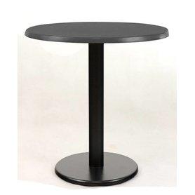 Kavárenské stoly - stůl Basic 025RT dekor Anthracite