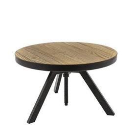 Kavárenské stoly - stůl Eva Low průměr 60cm