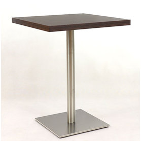 Kavárenské a restaurační stoly - stůl Flat 14QLTD 6 INOX