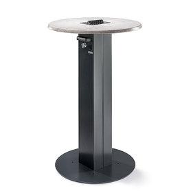 Doplňky - venkovní kuřácký stůl Circle