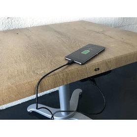 Bezdrátové nabíjecí stoly - Vestavná USB nabíječka IPAN USB