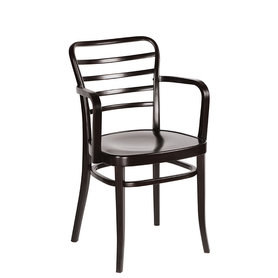 Dřevěné židle - židle Como s područkami