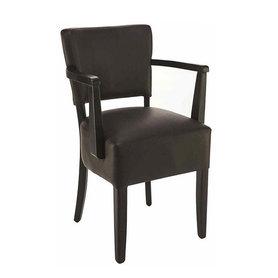 Dřevěné židle - židle Floriane F s područkami