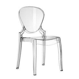 Plastové židle - židle Queen