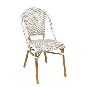 Zahradní židle - židle Sorbonne Grey/White