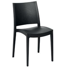 Plastové židle - židle Specto Black