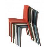Plastové stohovatelné židle