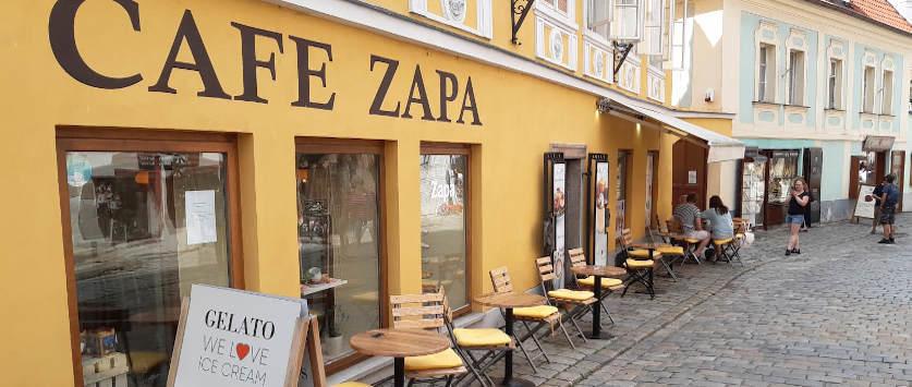 Café Zapa Krumlov