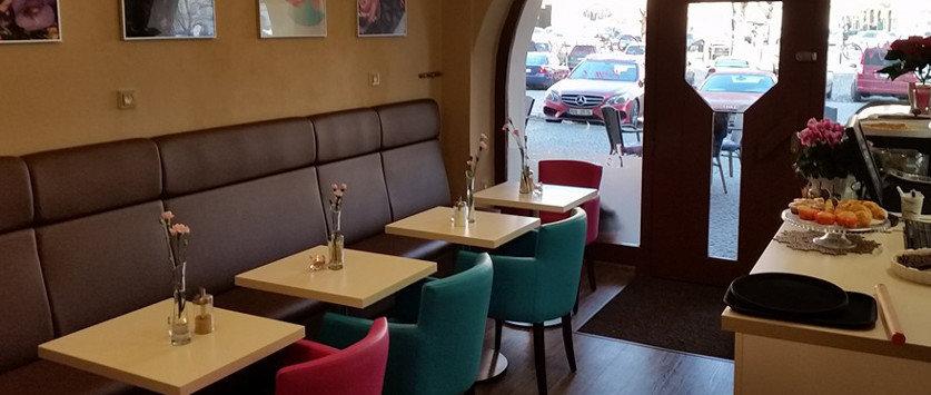 kavárna La Cafferina Litoměřice
